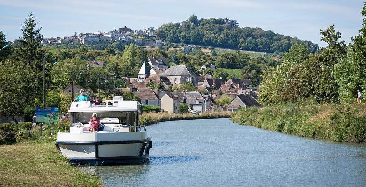 Experience a self-drive canal boat holiday in France