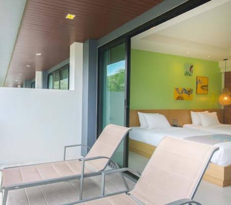 Garden View Room at Holiday In Resort Krabi Ao Nang Beach
