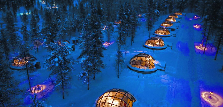 Hotel Kakslauttanen Igloo Village, Finland