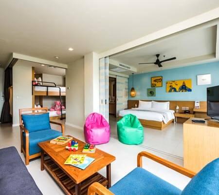 Kids Suite at Holiday In Resort Krabi Ao Nang Beach