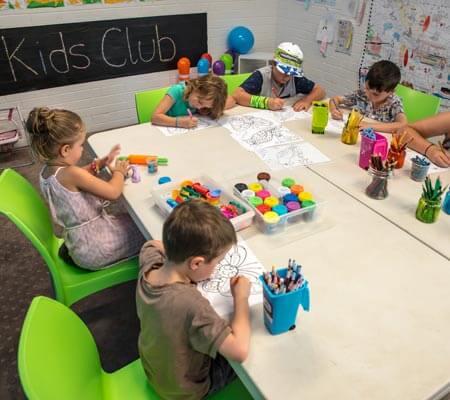 Kids club at BIG4 Emu Beach Holiday Park