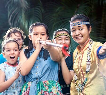 Kids club at Shangri-La's Rasa Ria Resort & Spa