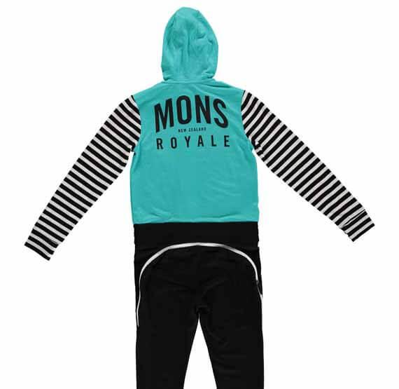 Mons Royale Groms Monsie, kids snow gear