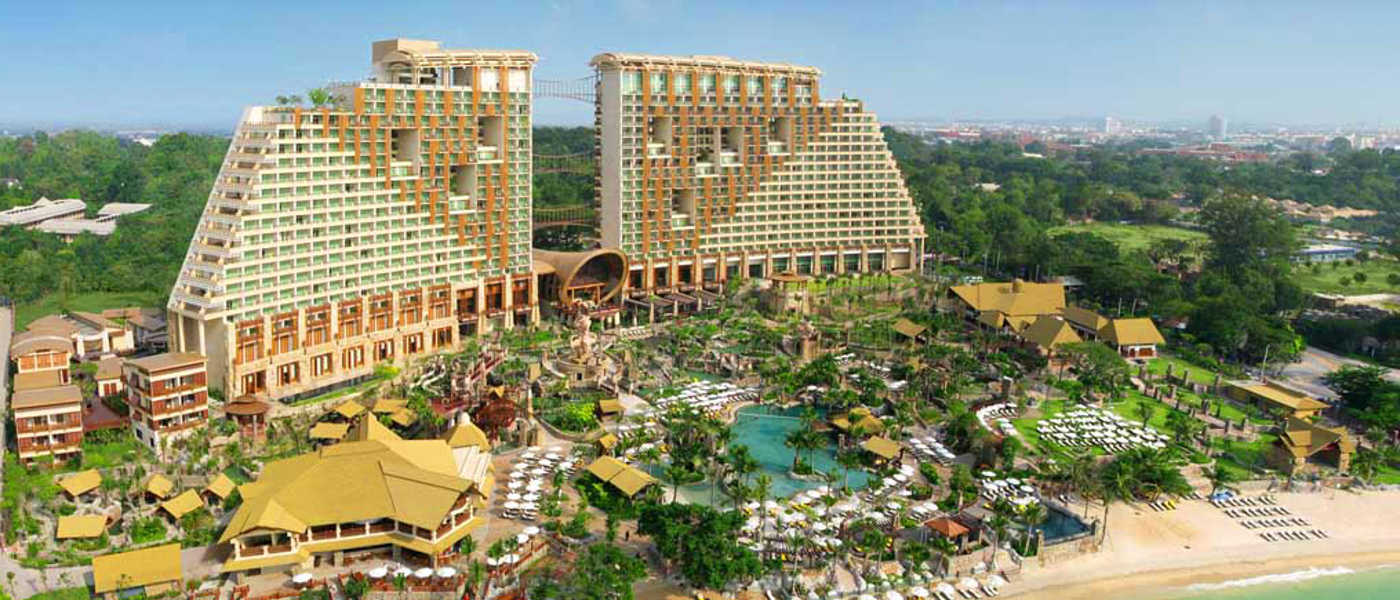 Centara Grand Mirage Beach Resort Pattaya, Thailand