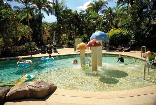 Mushroom Fountain Lagoon