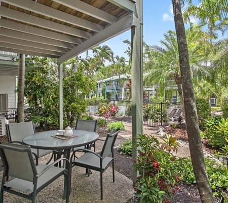 Patio Coral Beach Noosa Resort