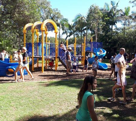 Playground at Ingenia Holidays One Mile Beach