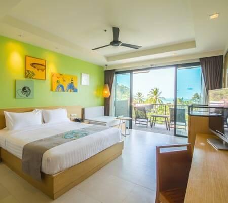 Pool View Room at Holiday In Resort Krabi Ao Nang Beach