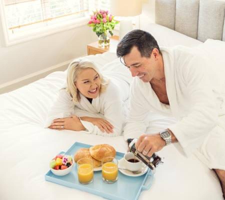 Room service at The Sebel Noosa