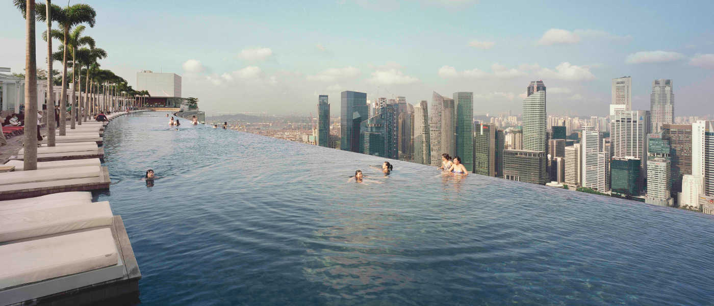 Sands SkyPark, Marina Bay Sands, Singapore