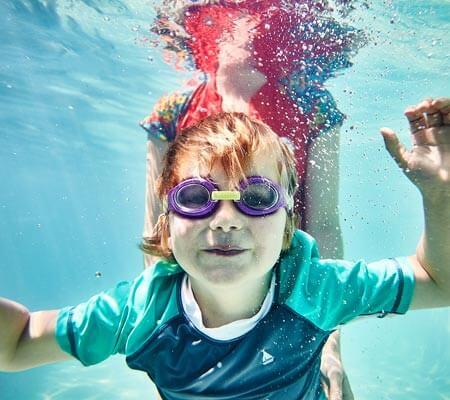 Swimming at Anglesea Family Caravan Park