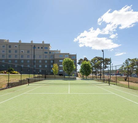 Tennis Court at Rydges Mount Panorama Bathurst
