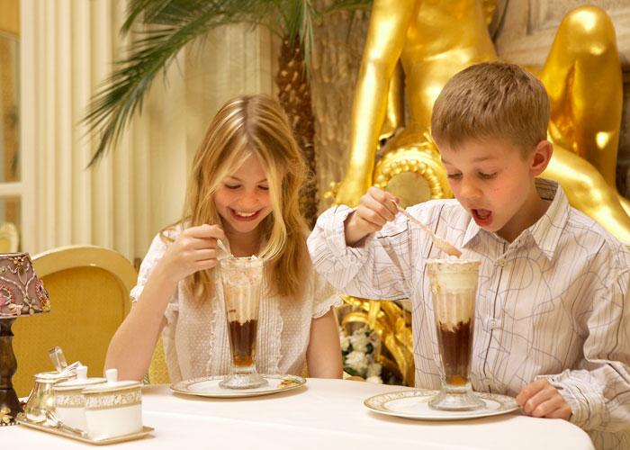 Ice cream at the Ritz London