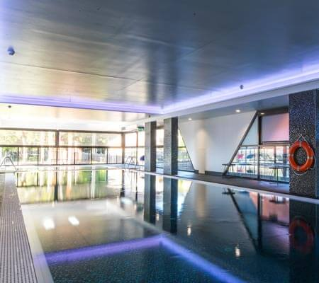 The pool at The Branksome Hotel & Residences