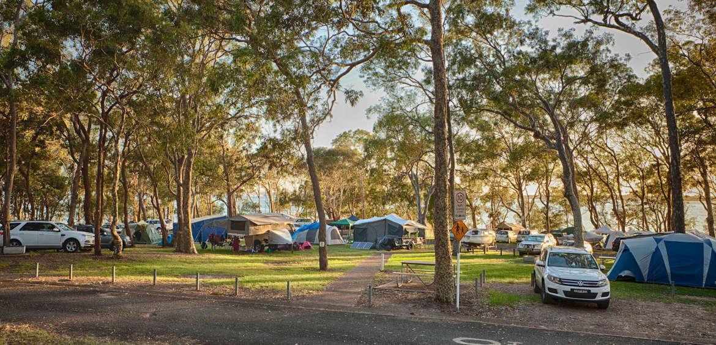 Wangi grounds Lake Macquarie Holiday Parks