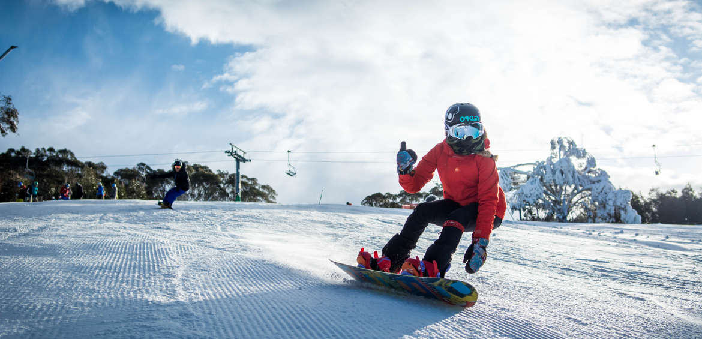 Snowboarding australia thredbo
