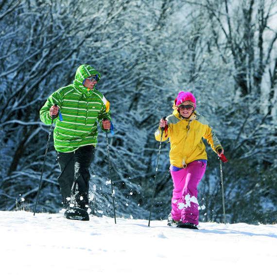 Falls Creek snow shoeing ski holidays australia