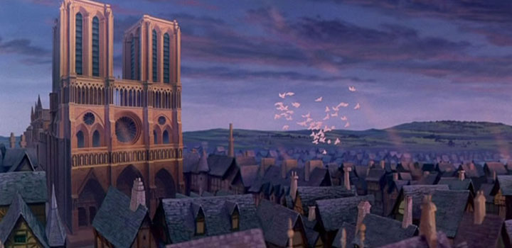 The Hunchback of Notre Dame Paris movies