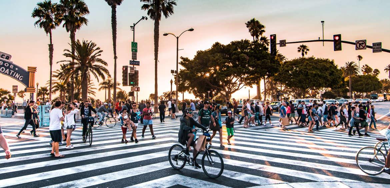 Los Angeles, USA street