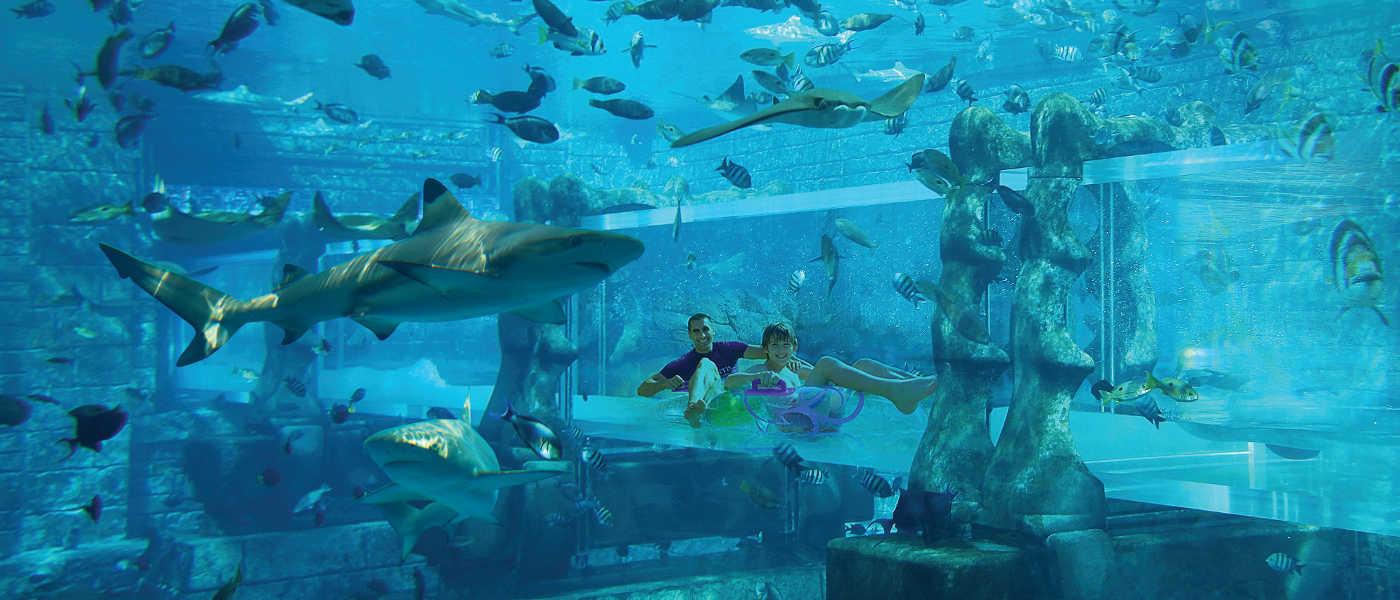 Aquaventure Water Park. Atlantis, The Palm, Dubai