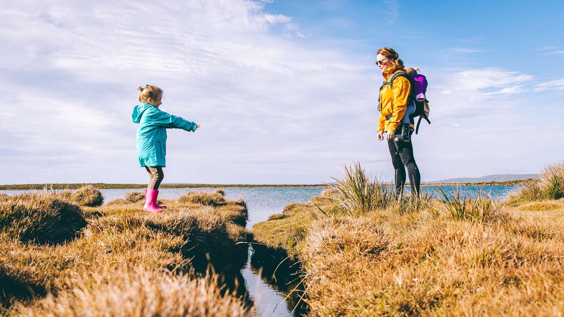 hiking adventure mum