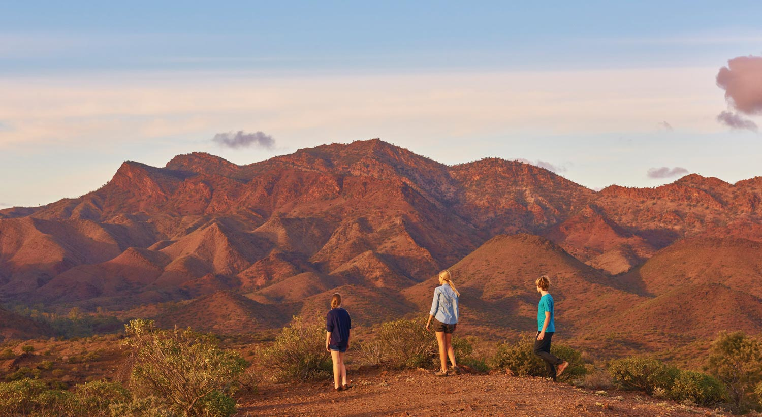 Exploring the Flinders Ranges with family