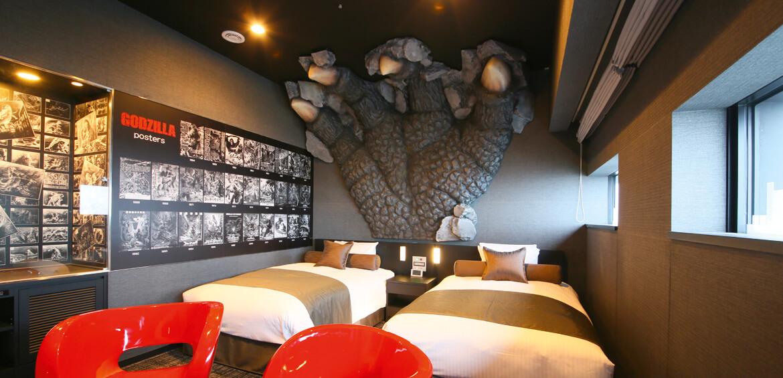 Japan family accommodation: Godzilla