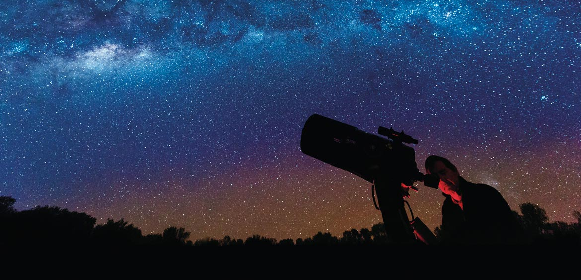 Outback rural QLD sky stargazing
