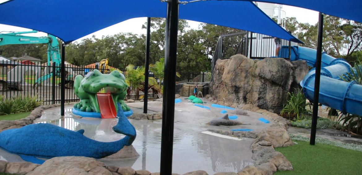 BIG4 Tweed Billabong holiday park water park