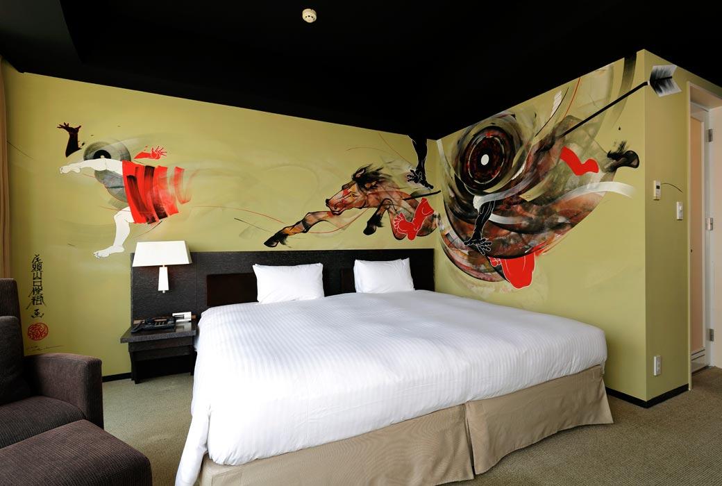 Kabuki room at Park Hotel Tokyo