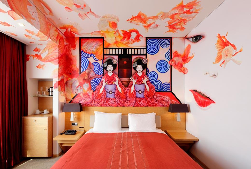 Geisha room at Park Hotel Tokyo