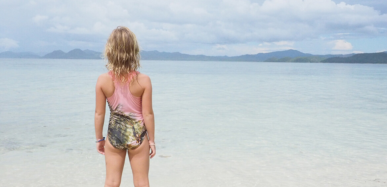 Beach time in Coron Island