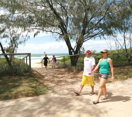 Beachfront at Ocean Beach