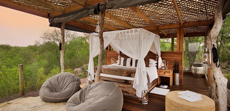 Bedroom at Kingston Treehouse