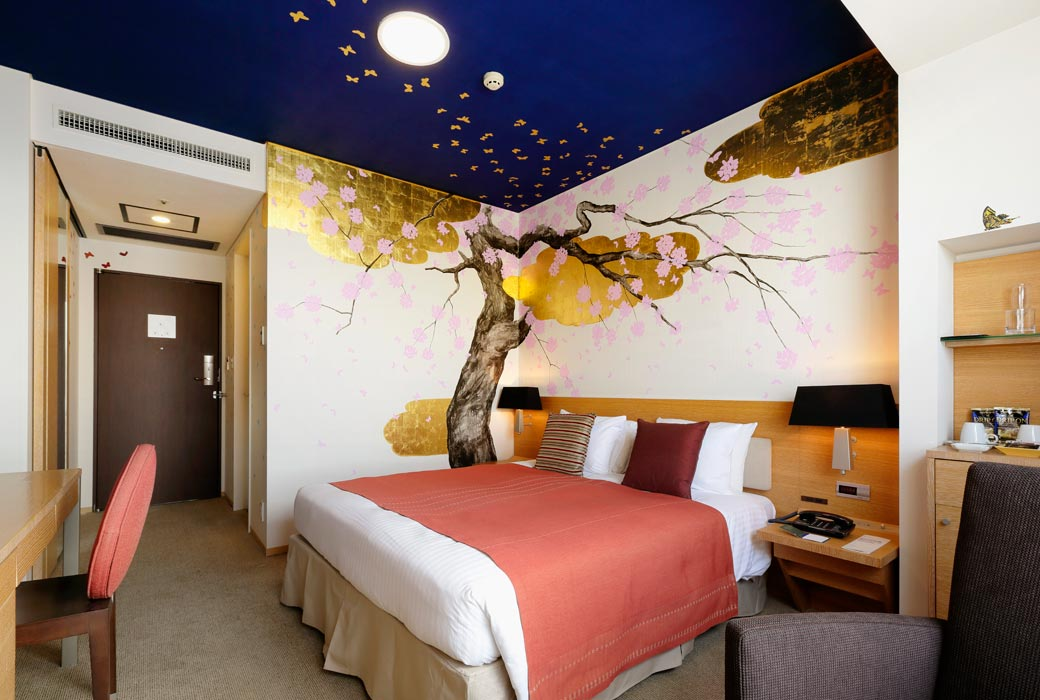 Cherry Blossom room at Park Hotel Tokyo