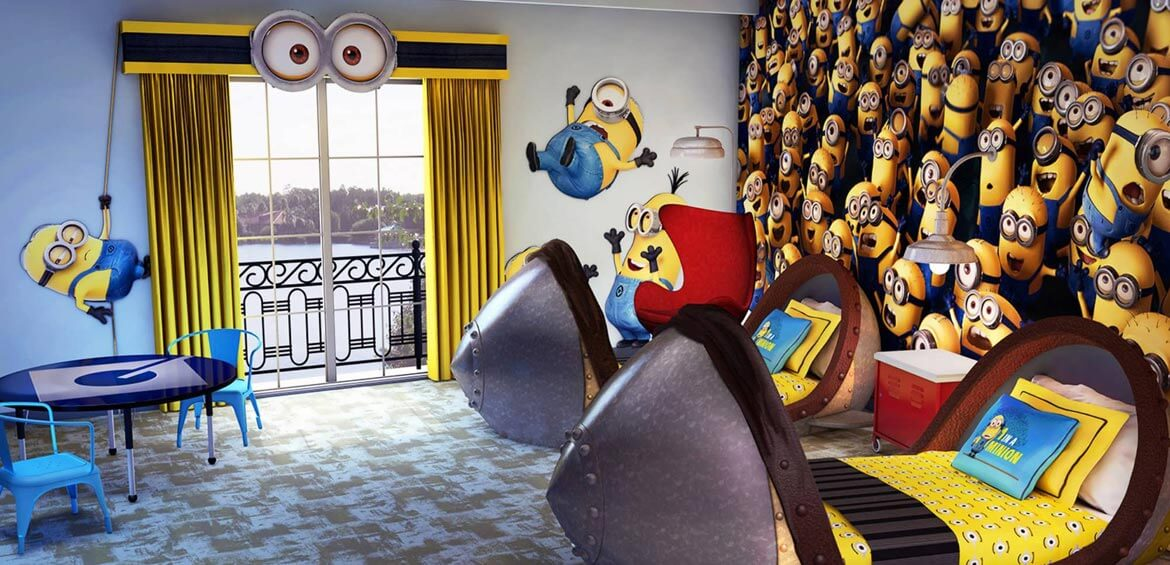 Despicable Me, Loews Portofino Bay Hotel, Orlando, USA