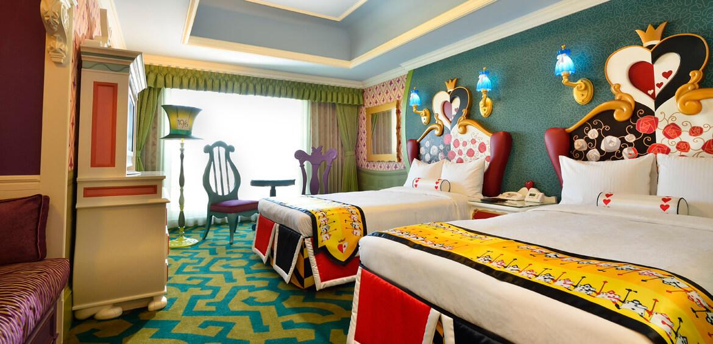 Japan family accommodation: Disney Hotels