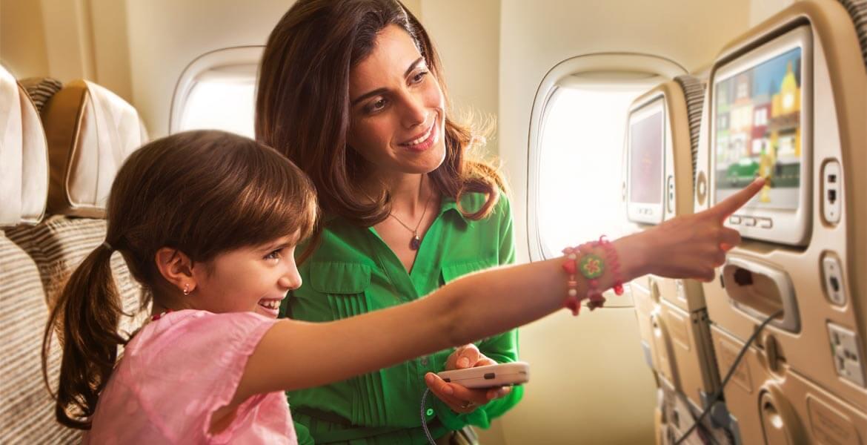 Economy seat onboard Etihad Airways Airbus A380-800