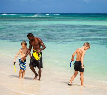 Family fun at Aquana Beach Resort