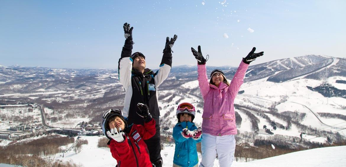 Family fun at Rusutsu Resort