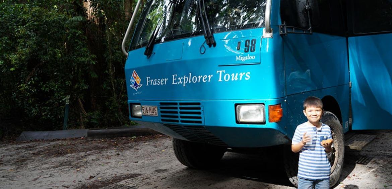 Fraser Explorer Tours bus