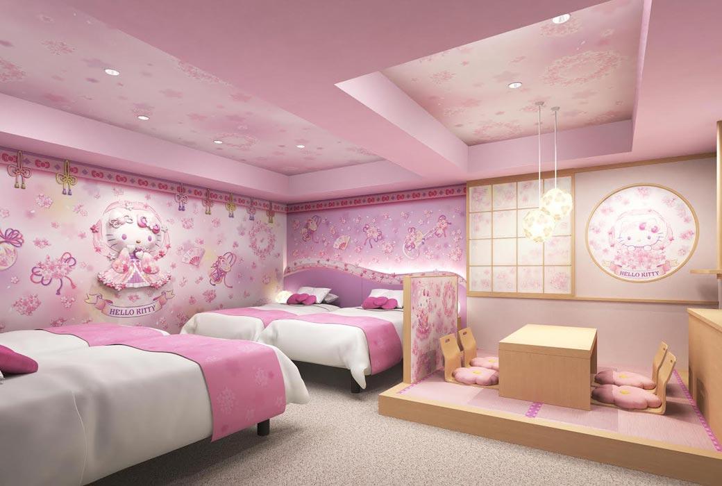 Asakusa Tobu Hotel's hello kitty room