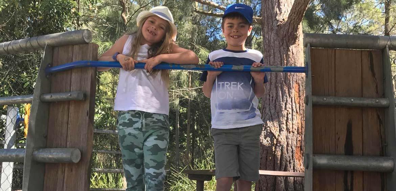 Lane Cove National Park family travel blogger