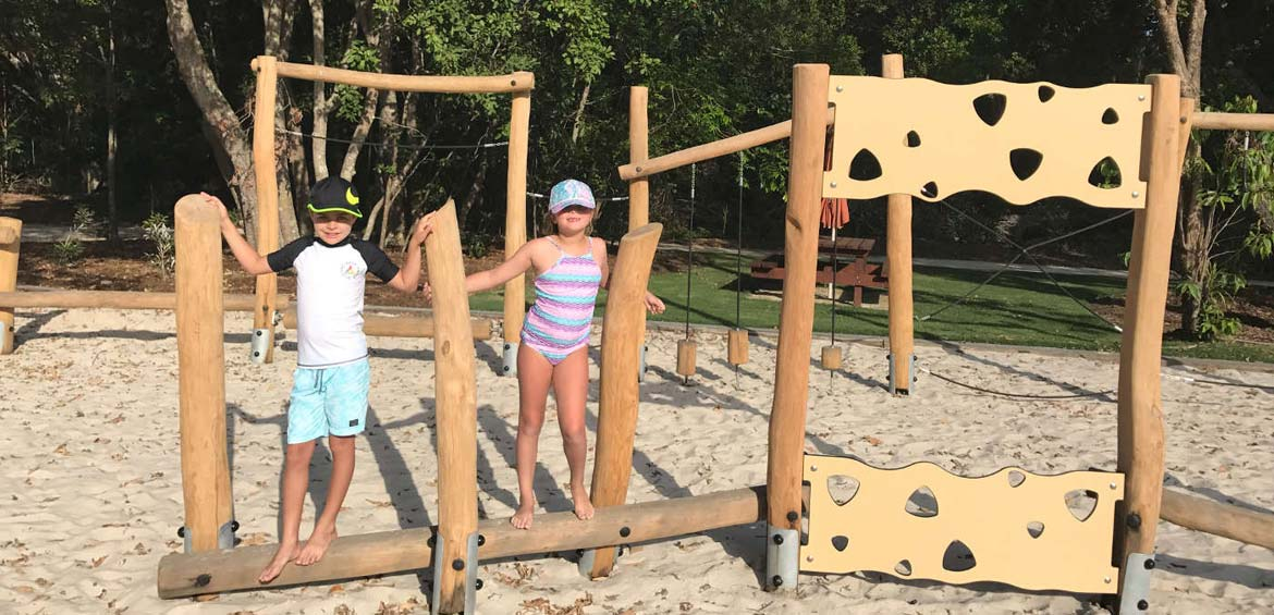 Elements of Byron, Byron bay by Family travel blogger: playground for kids