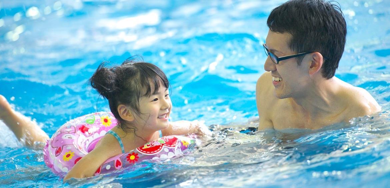 Indoor swimming pool at Rusutsu Resort