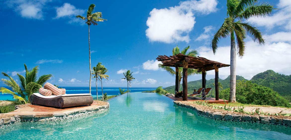 Laucala fiji private island
