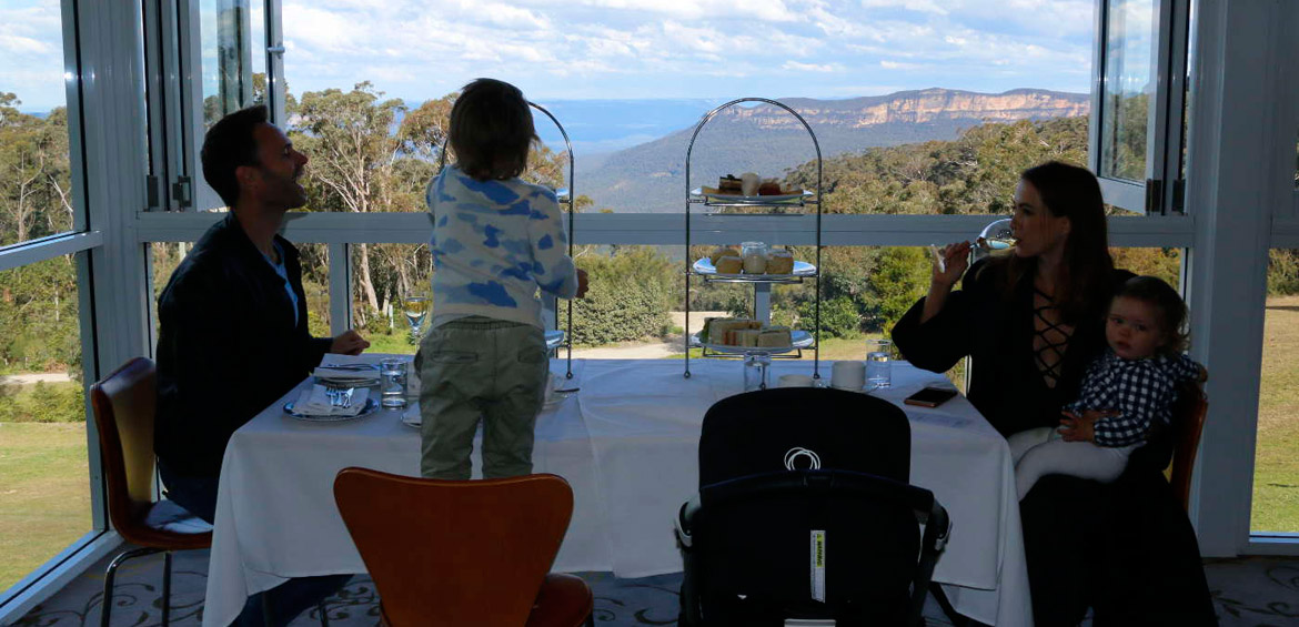 Blue mountains with baby: Fairmont blue mountains resort dining