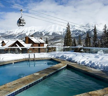 Mountain Lodge Telluride pool