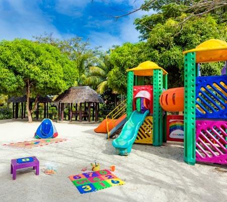 Playground at Sheraton Samoa Beach Resort