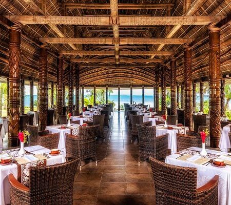 Restaurant at Sheraton Samoa Beach Resort